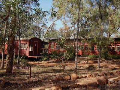 undara train carriage accommodation