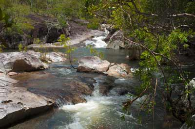 davies creek swimhole near kuranda