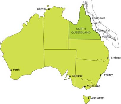 Map Of North Queensland Australia.Welcome To Travel Nq