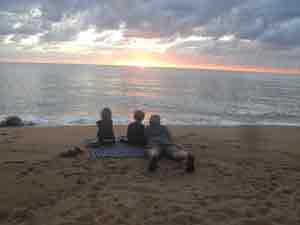 picture of bramston beach sunrise