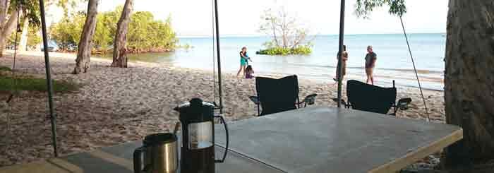 beach camping etiquette australia