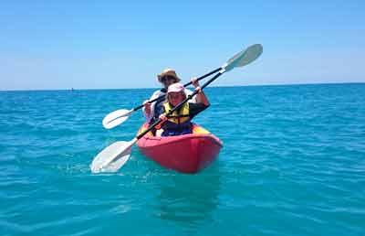 cape trib kayaking paddletrek