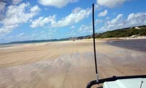 4WDing elim beach