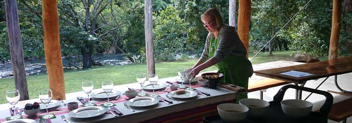 rainforest bounty cooking classes