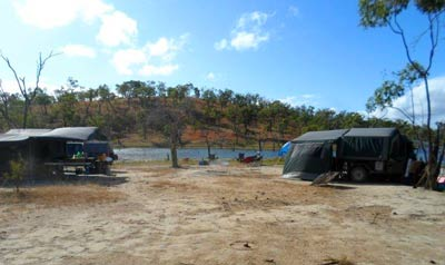 camping at piggys lagoon