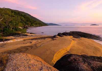 bramston rock sunset