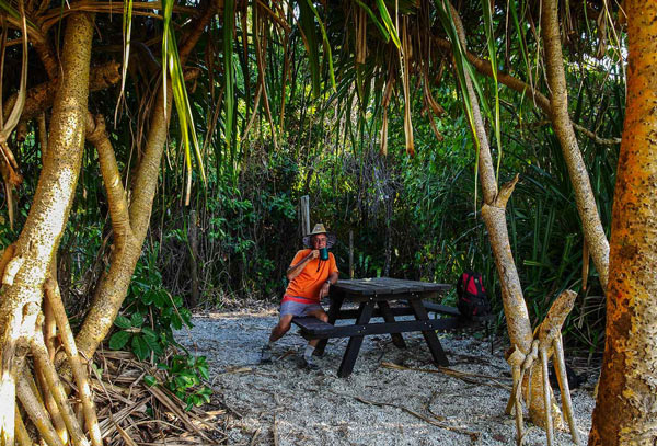 camping north barnard islands