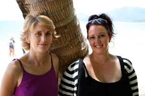 Elaine Seager and Amanda Cranston