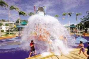 Water park at Strand, Townsville
