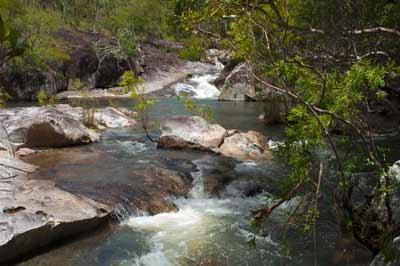 davies creek swimhole near kuranda