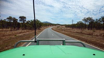 inland road cairns to cooktown