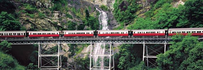 kuranda scenic railway one of cairns tourist attractions
