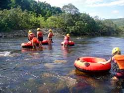 river tubing tour near cairns