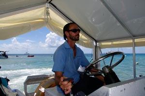 aquarius glass bottomed boat