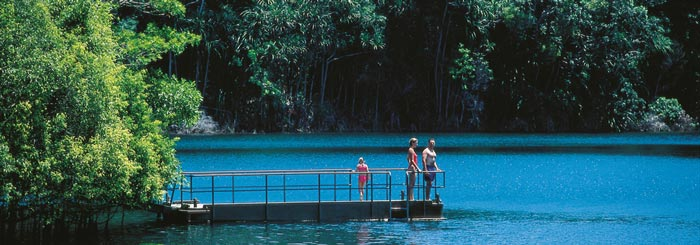picture of lake eacham