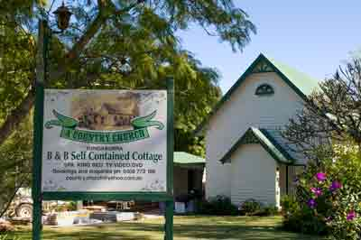 yungaburra accommodation, old chapel