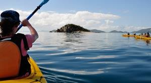 sea kayaking whitsunday islands