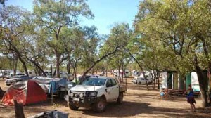 camping at laura dance festival