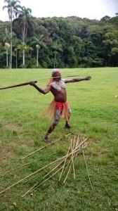 aboriginal spear throwing