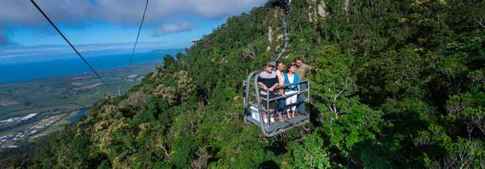Cairns to Kuranda Skyrail Celebrates 20 Years