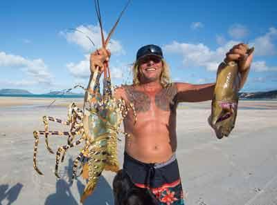elim beach crayfish