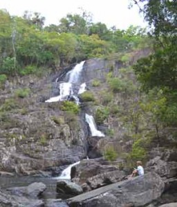 wallaby creek waterfall
