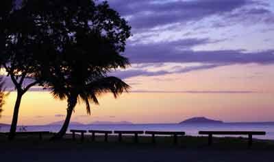 bramston beach sunset