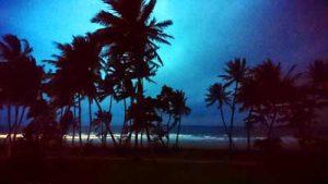 mission beach storm
