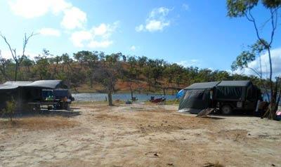 camping at piggys lagoon