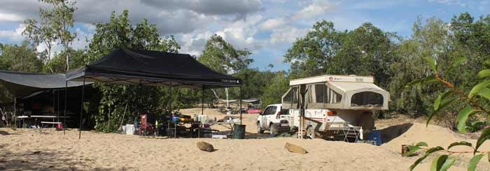 bush camping