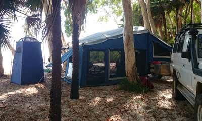 camping queensland