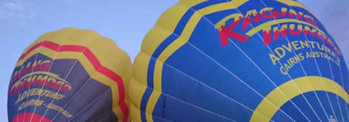 Hot Air Ballooning: Watching the Sunrise Over Mareeba