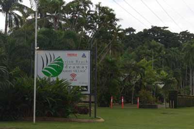 mission beach hideaway village
