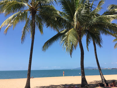 the strand beach townsville